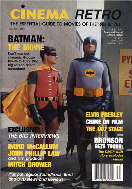 Cinema Retro magazine 7
