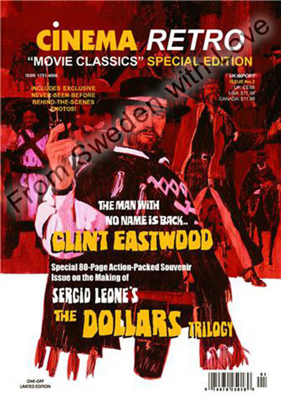 Clint eastwood sergio leone special issue