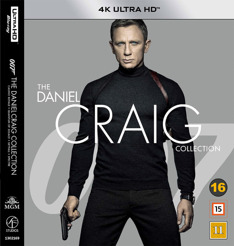 Daniel Craig James Bond Collection 4K Ultra HD