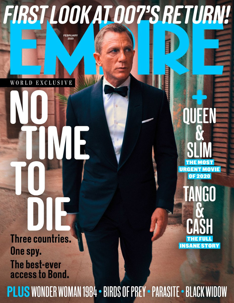 EMPIRE Magazine No Time To Die
