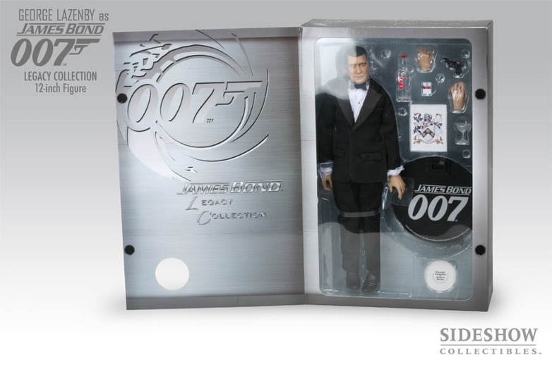 George lazenby sideshow legacy collection
