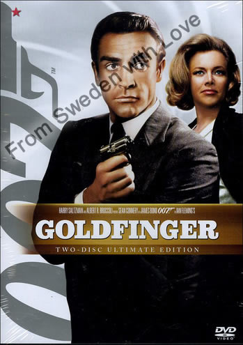 Goldfinger DVD 2008