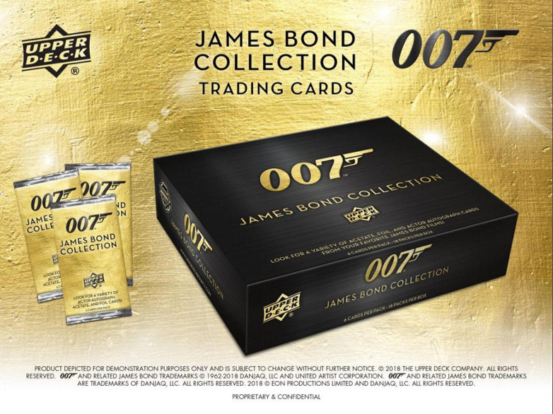 James Bond 007 Collection Upper Deck