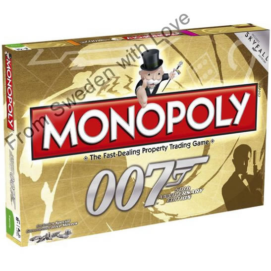 James Bond 50th monopoly