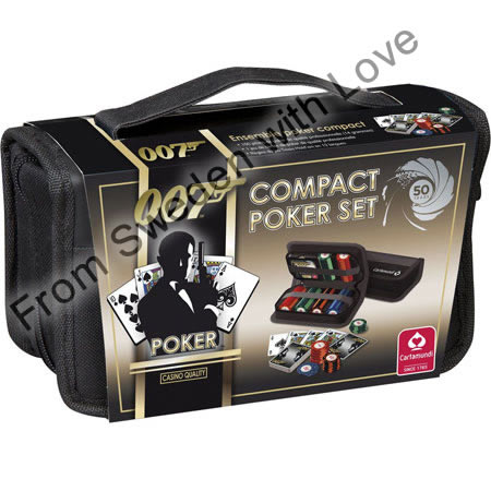 James bond pokerset 150 piece