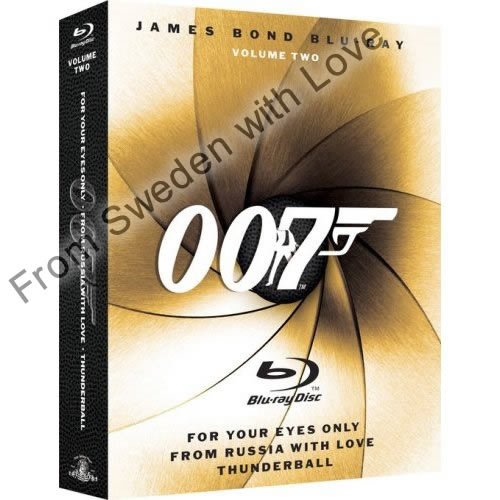 James bond blu ray set