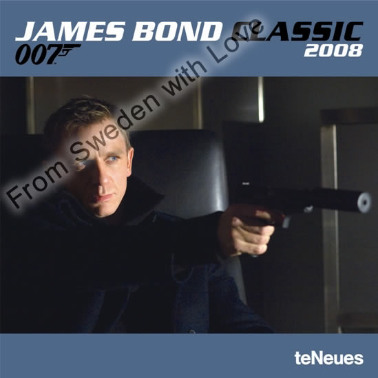 James Bond Classic 2008 Calendar