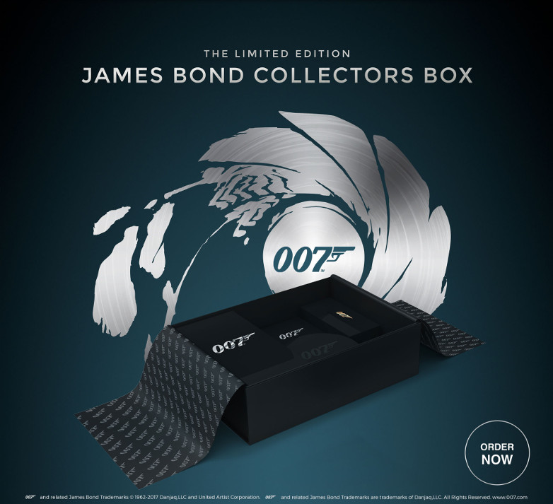 Limited Edition James Bond Collectors Box