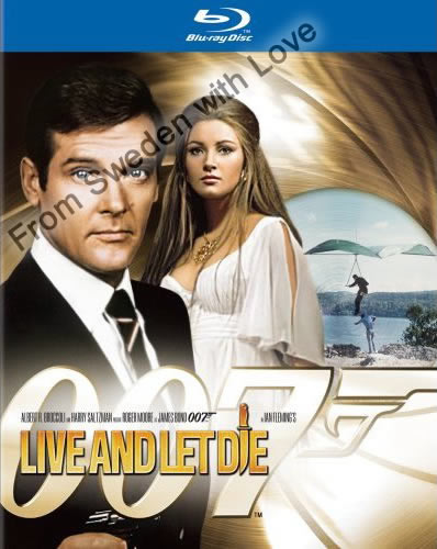 Live and let die blu ray