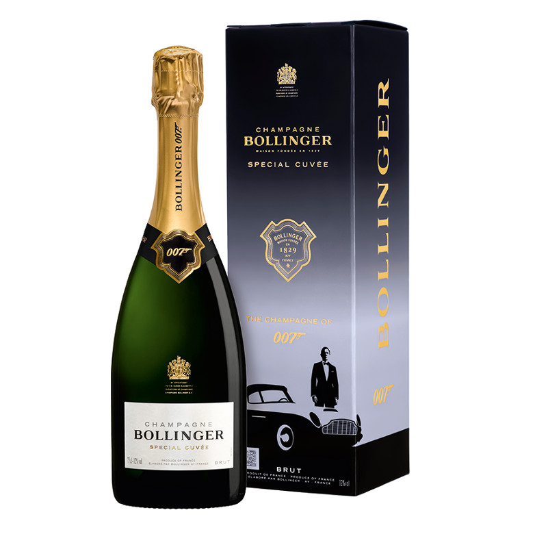 Bollinger Launch Limited Edition No Time To Die Gift Pack