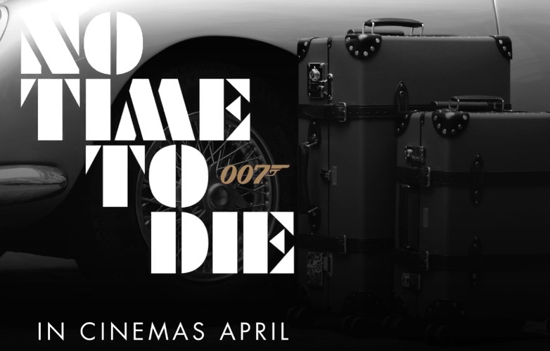 Globe-Trotter No Time To Die Luggage Collection
