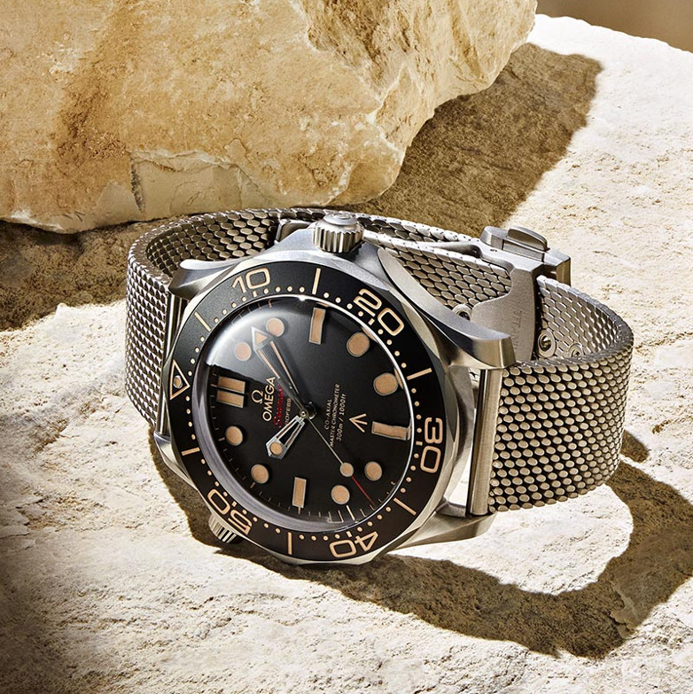 OMEGA No Time To Die Seamaster Diver 300M 007