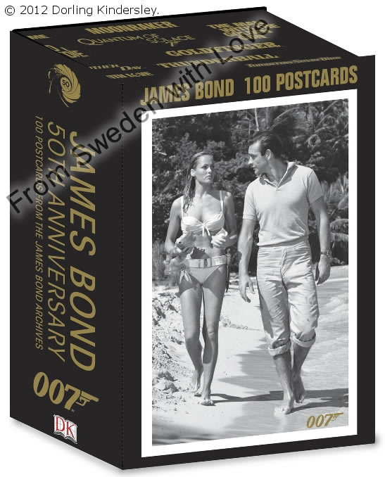 Postcards from james bond archives