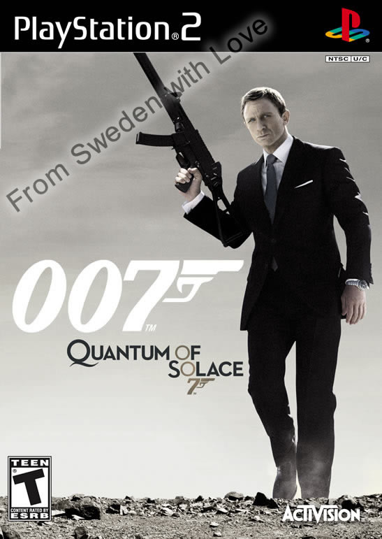 Quantum of Solace playstation 2 game