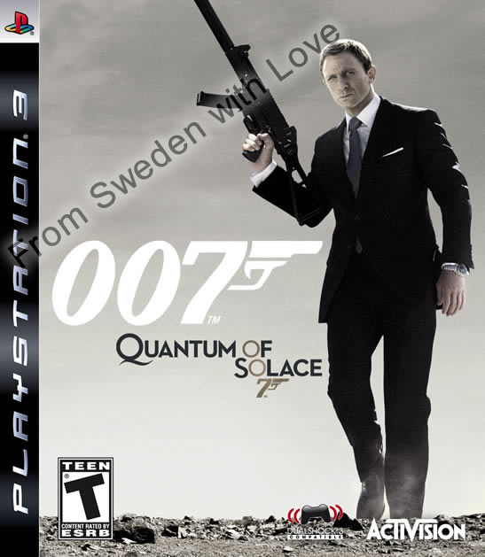 Quantum of Solace playstation 3 game