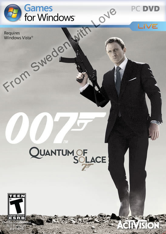 Quantum of Solace windows vista game