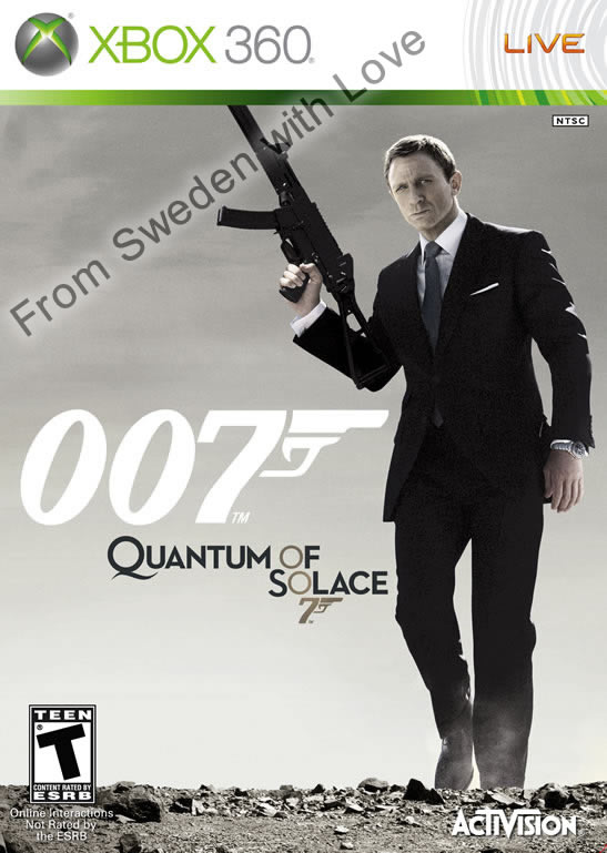 Quantum of Solace Xbox 360 game