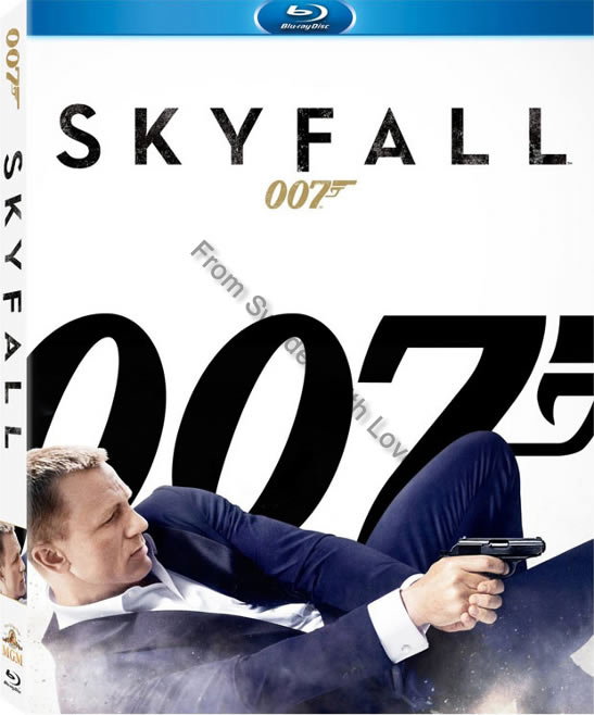 Skyfall blu ray UK release