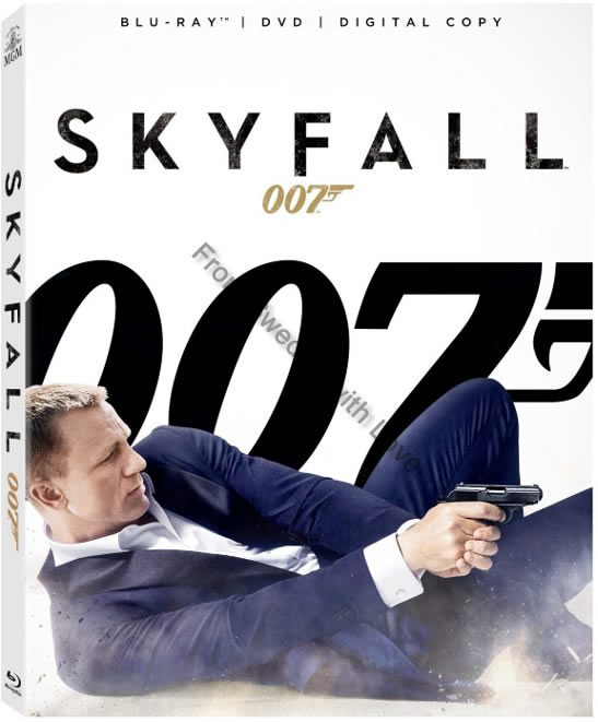 Skyfall blu ray US release