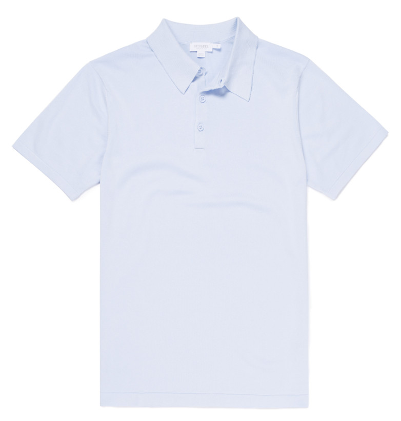 Sunspel Sea Island Knitwear shirt