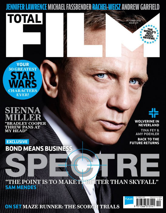 Total film SPECTRE issue