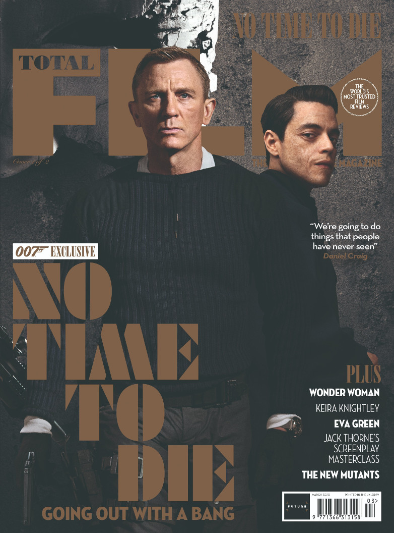 Total Film Magazine: No Time To Die issue (April 2020)