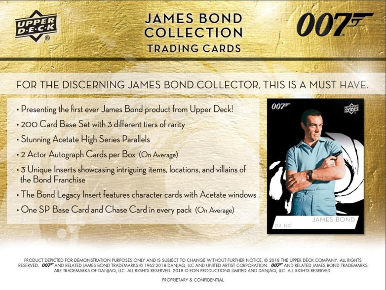 Famke Janssen James Bond Trading 007 Cards Upper Deck
