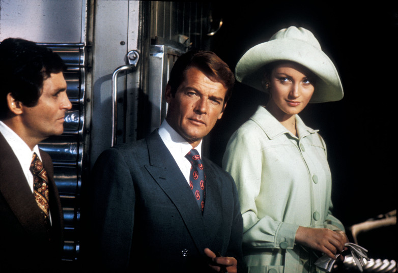 David Hedison Roger Moore Jane Seymour Live and Let Die