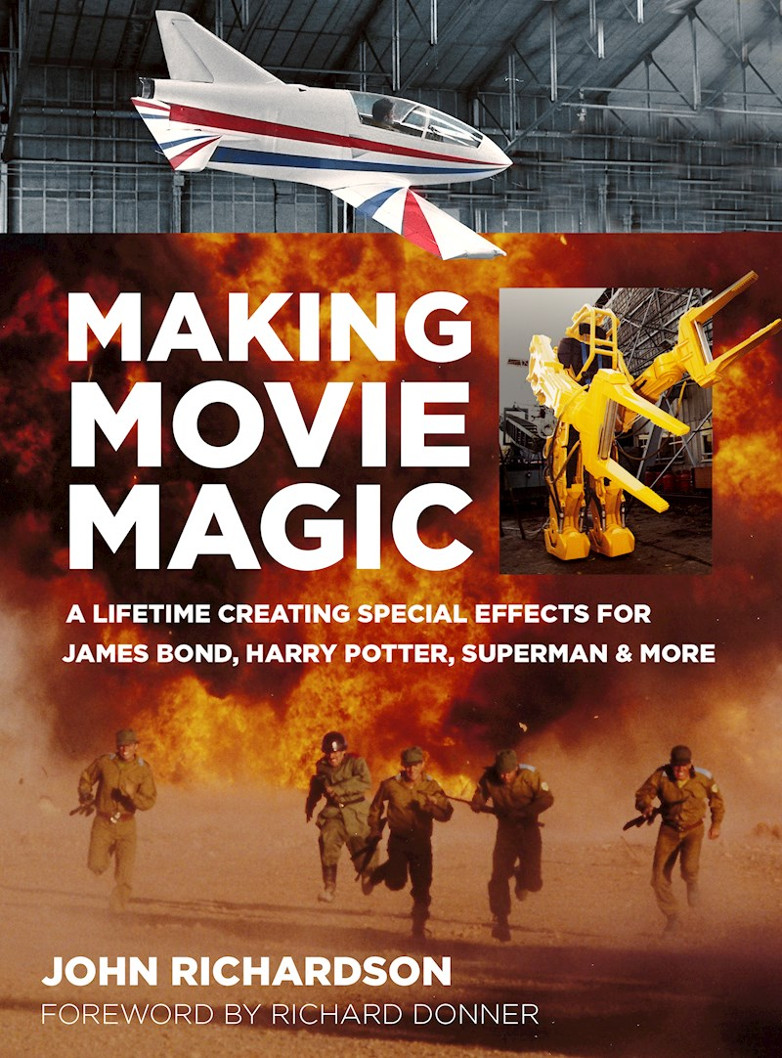 Making Movie Magic John Richardson book review