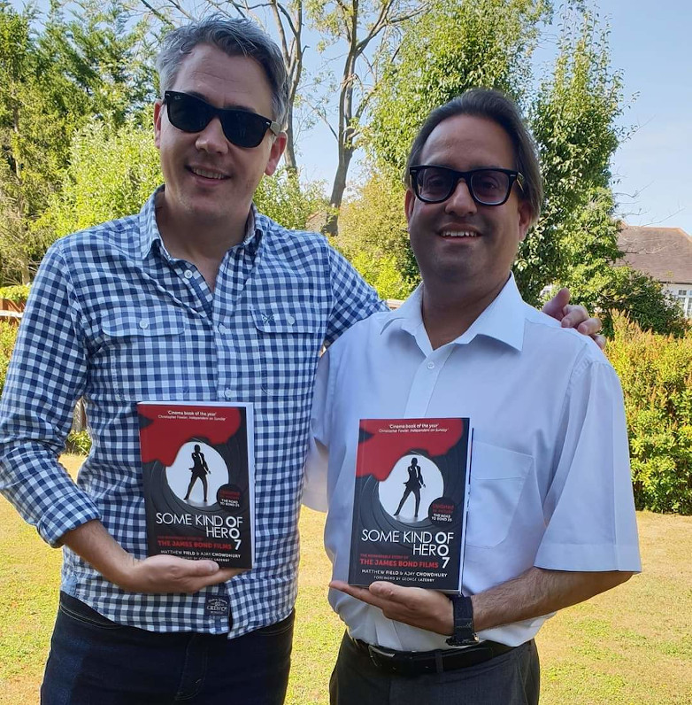 Matthew Field and Ajay Chowdhury Some Kind Of Hero authors