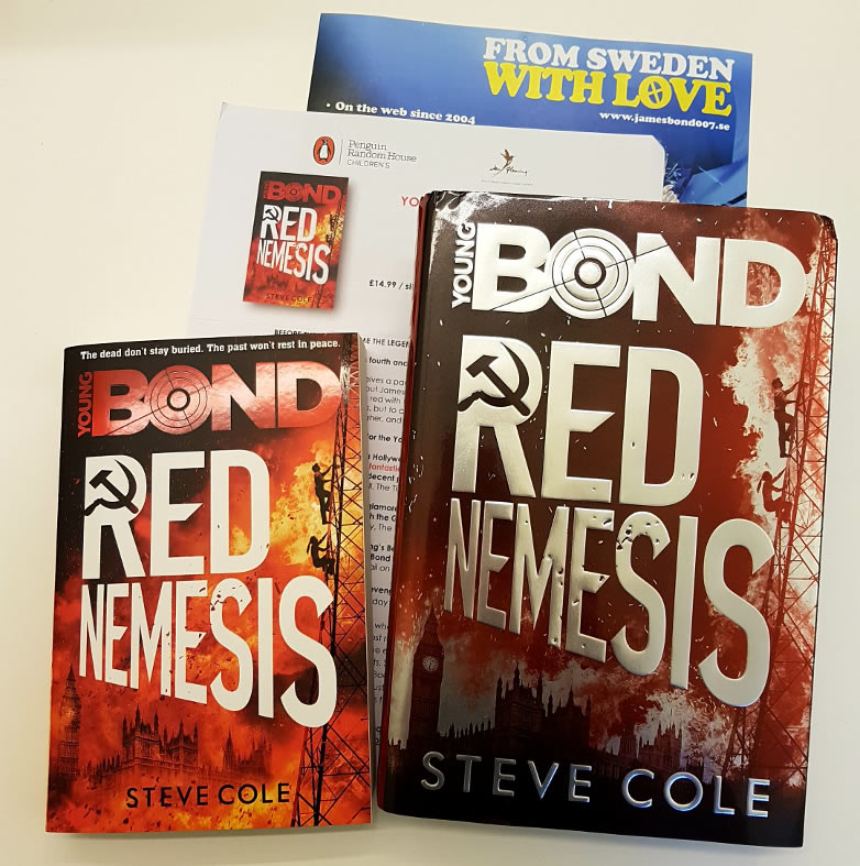 Red Nemesis Steve Cole