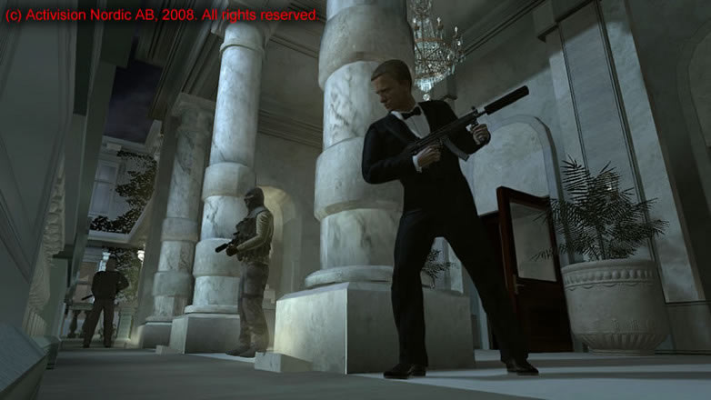 Quantum of Solace Activision video spel