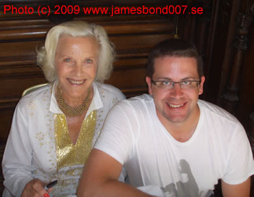 Honor Blackman Anders Frejdh
