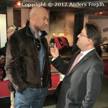 Colin Salmon Anders Frejdh