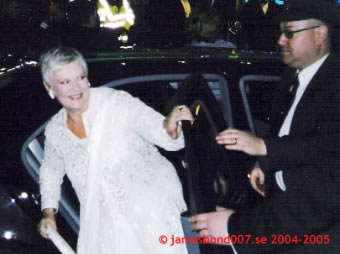 Judi Dench M James Bond